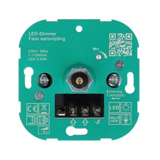 L + R TRIAC dimmer for 230v LED Lamps phase cut