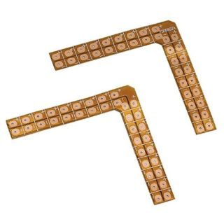 LED STRIP 90 ° soldering angle, 2 pieces