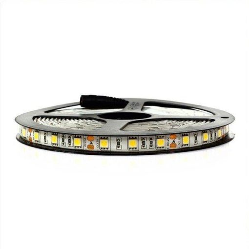 LED STRIP 12V, 300 SMD 5050 LED 5m | Résistant aux éclaboussures IP44 - 3000k 2