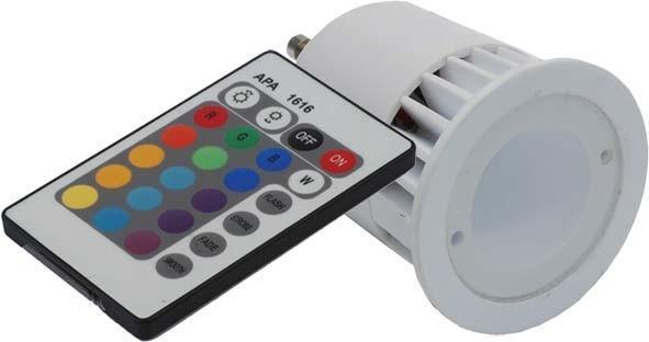 RGBspot 6W met remote