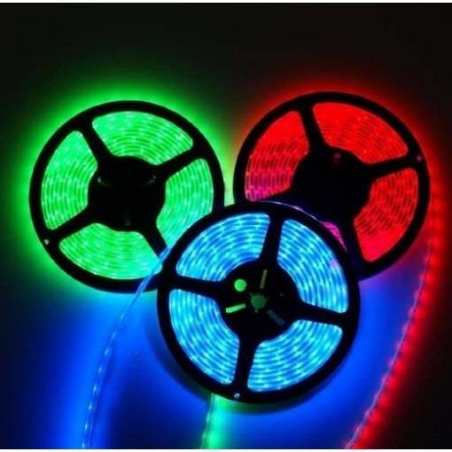 BANDE RGB À LED 12V, 300 SMD 5050 LED IP67 5m