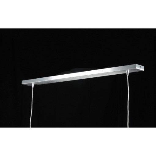 Suspension LED en aluminium à 2 ampoules