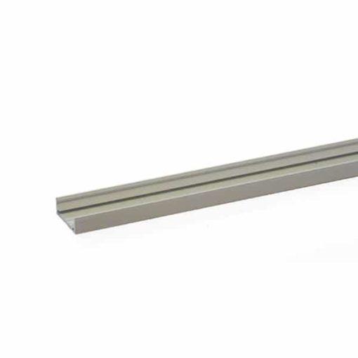 Aluminium Profiel Laag model - smal + cover 2