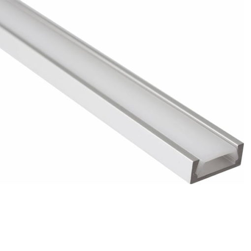 Aluminium Profiel Laag model - smal + cover 1