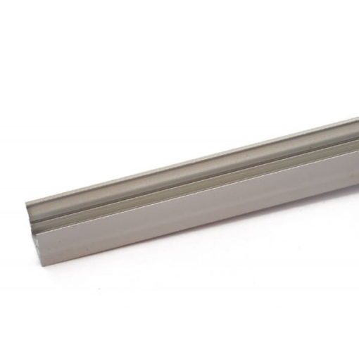 Aluminum Profile 16x16 for LED strips supplied with opal cover 1
