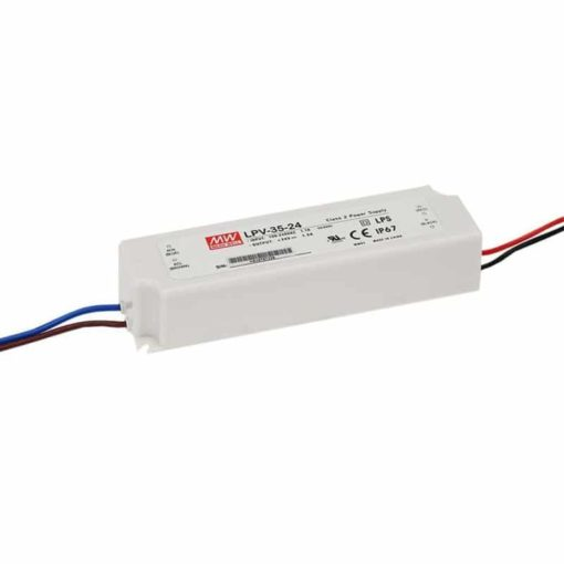 LED power supply - 24V 35W - Meanwell 1