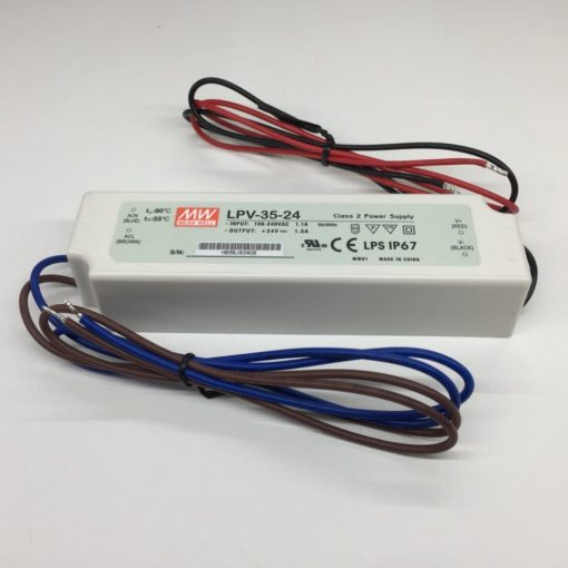 LED power supply - 24V 35W - Meanwell 2
