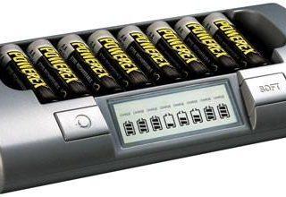 Chargeur de batterie professionnel avec 8 stations de charge indépendantes