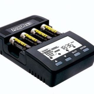 Professional battery charger / analyzer for AA and AAA batteries