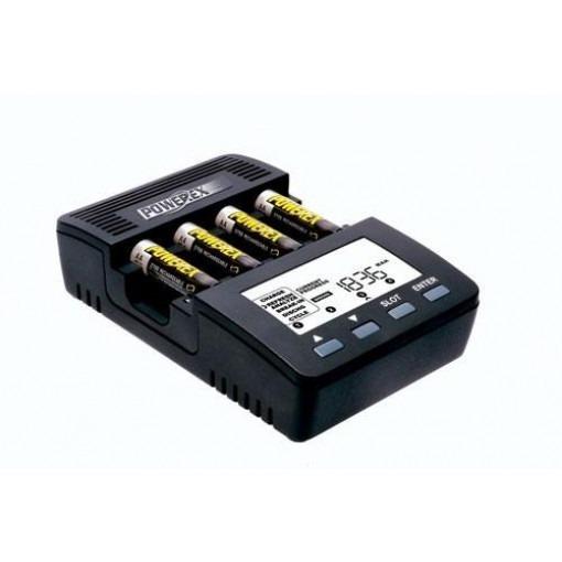 Chargeur / analyseur de batterie professionnel pour piles AA et AAA