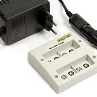 Professional battery charger to charge 4 x 9V battery