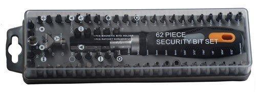 Security bit set - 62 stuks