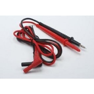 Test leads for multimeter with safety plugs