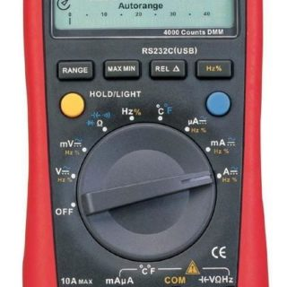 Modern digital multimeter - auto range with RS232 connection