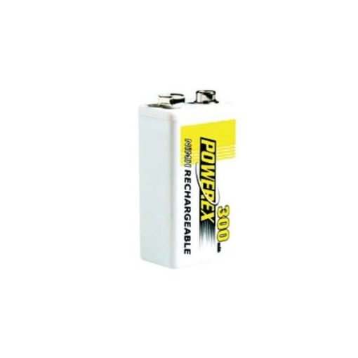 Rechargeable 9V battery (E-Block) - 9V 300mAh - NiMH - 1 piece 1
