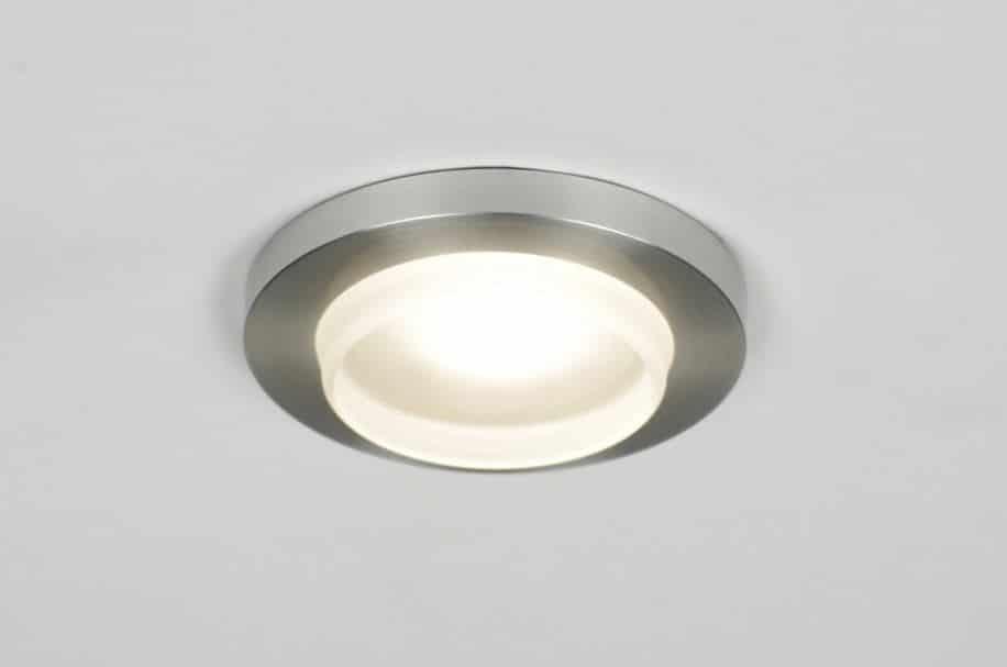 Waterdichte LED Inbouwspot rond - LEDshoponline.be