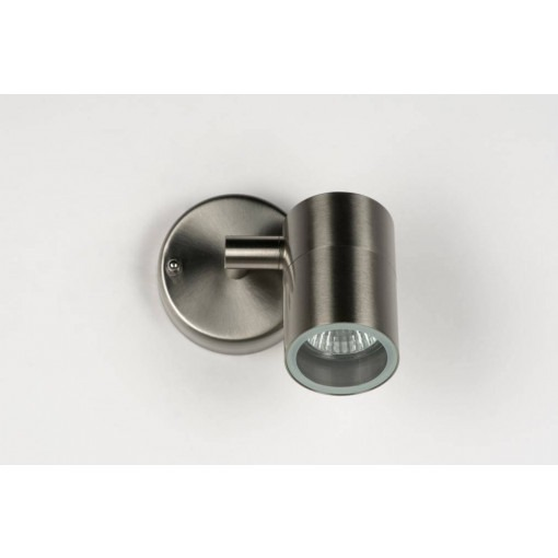 Stainless steel adjustable LED spot fixture IP44