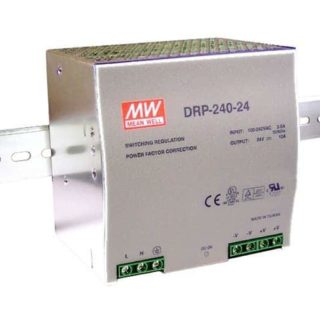 Power supply for DIN-RAIL Meanwell 24V 240W