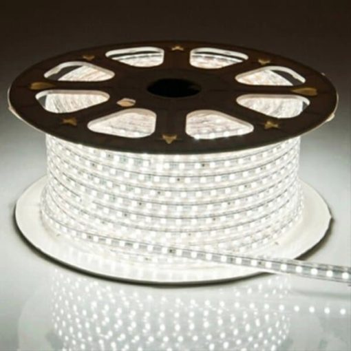 LED strip 230V 50m koud-wit 5050 1