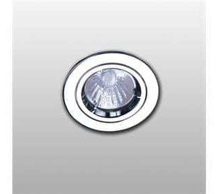 culot de lampe GU10 (230V) compris. Diamètre du luminaire 50 mm. Taille de scie 76 mm.