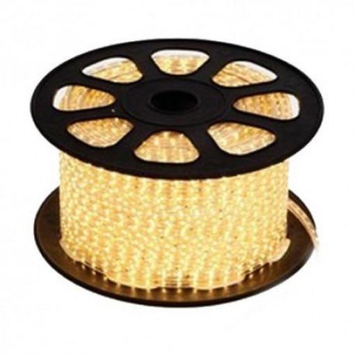 LED strip 230V per m warm-white 5050 IP68