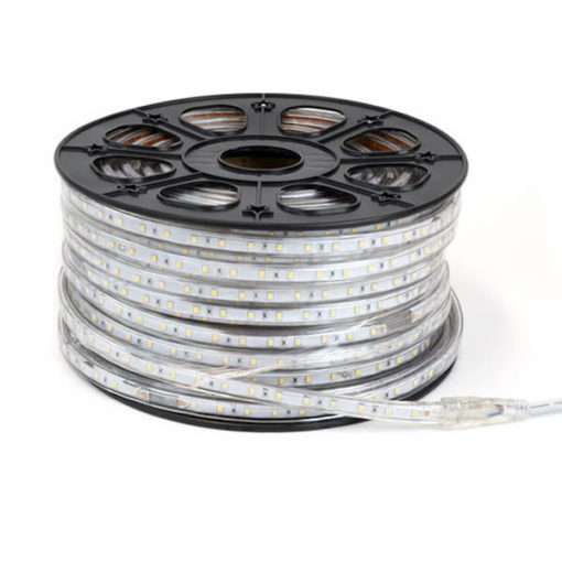 LED strip 230V 50m warm-wit 5050 1