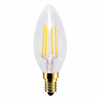 Bougie LED E14 EDISON 4W - 30W