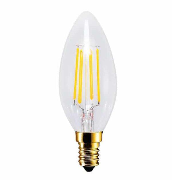 E14 LED kaars EDISON 4W – 30W