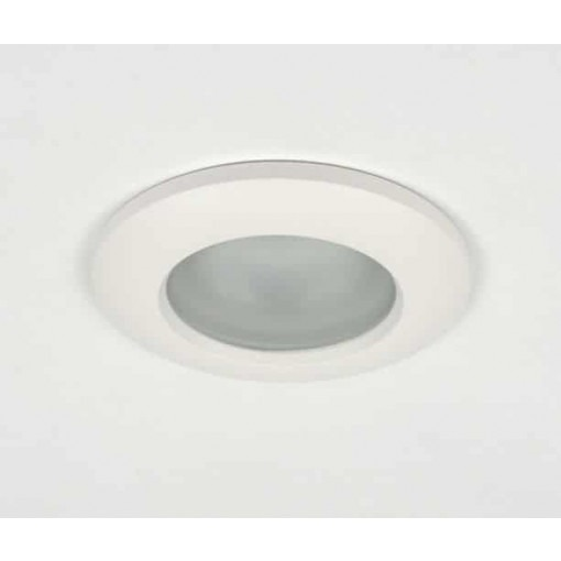 Spot encastrable inclinable IP65, blanc