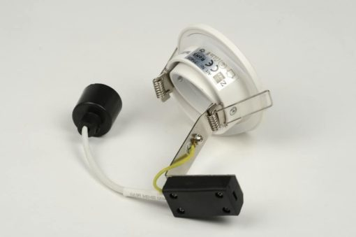 IP65 kantelbare inbouwspot wit