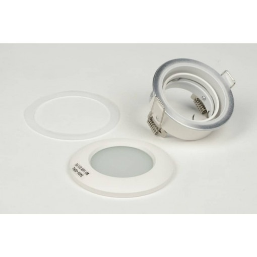 IP65 tiltable recessed spot white