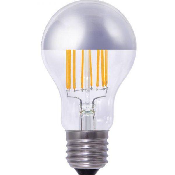 E27 LED-lamp met spiegel hoofd 4,9W - 30W vervanger