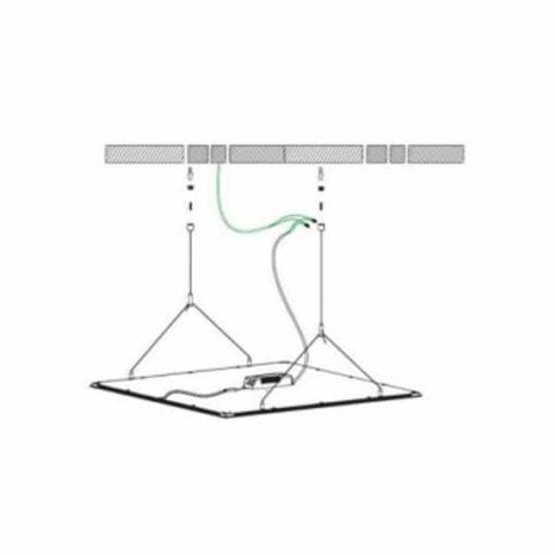LED paneel afhangset 4