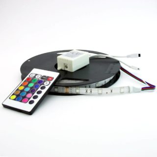 Set RGB LED strip 14,4W/72W