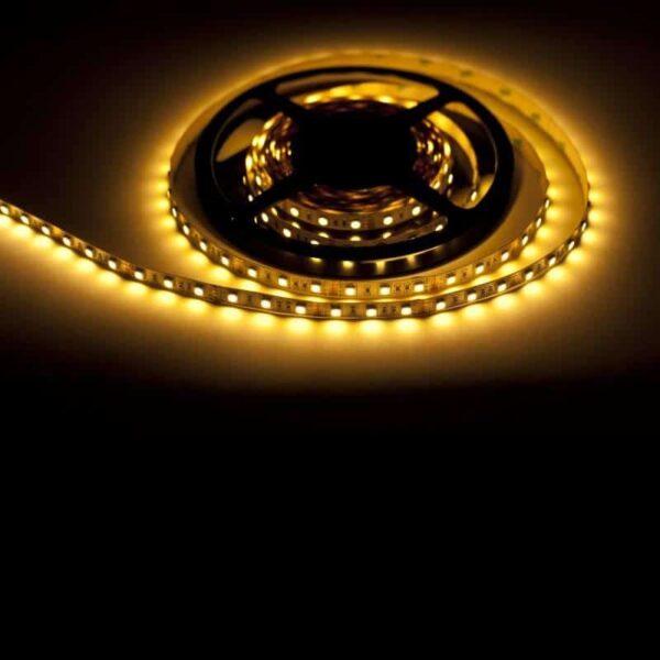 12V LED STRIP 5050 150SMD/5m IP44 2700K extra warm-wit