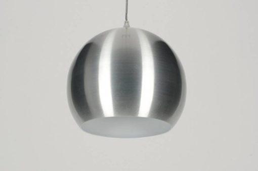 Geschuurd aluminium LED retrobol 5W-50W warm-wit