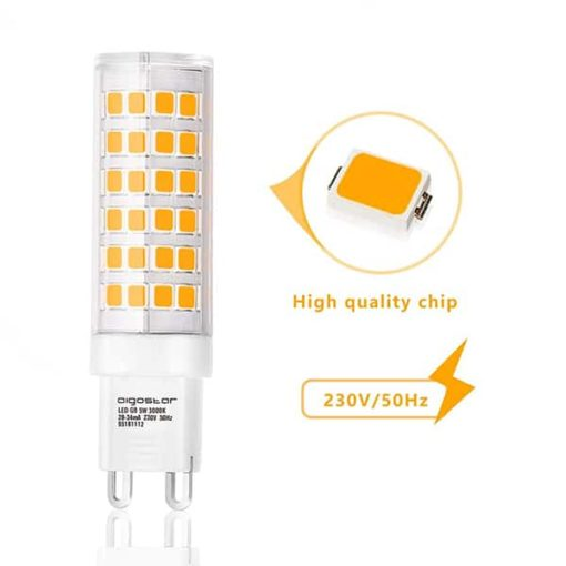G9 LED 5W warm-wit | 3000k 3