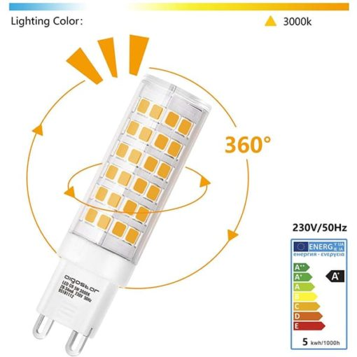G9 LED 5W warm-wit | 3000k 1