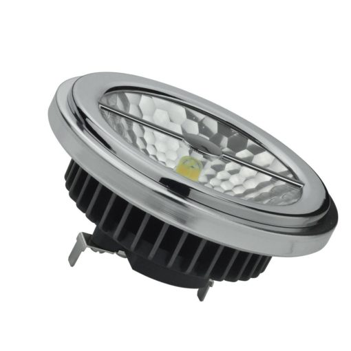 12W LED AR111 AC / DC 12v blanc chaud à intensité variable