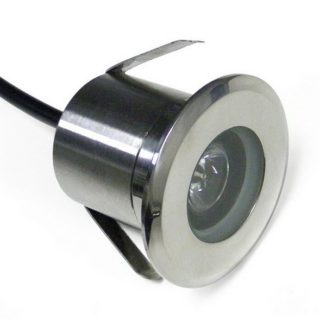 Stainless steel LED Ground spot cold-white IP65