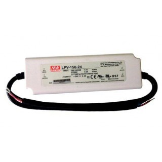 LED voeding Meanwell 24v 150w IP67
