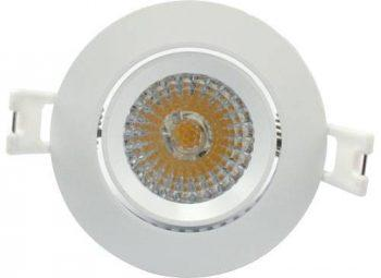 Spot encastrable LED 6W dimmable Blanc chaud