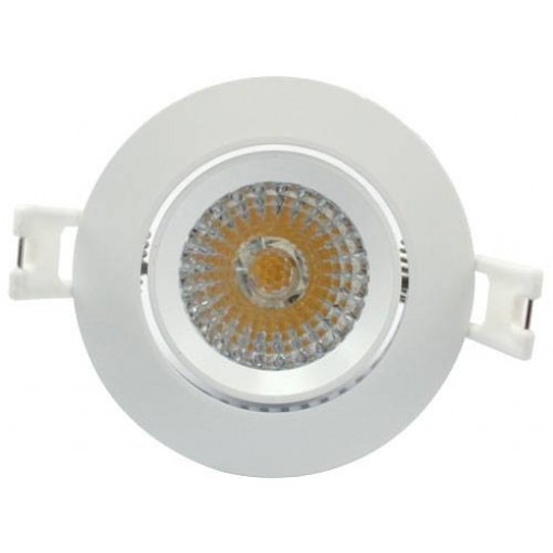 LED recessed spot 6W dimmable Warm white