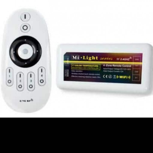 RF dimmer remote control 4 zone + controller