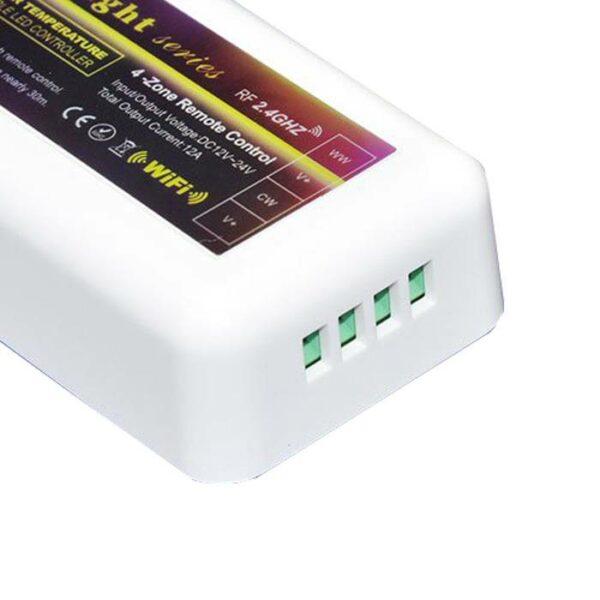 RF dimmer afstandsbediening 4-zone + controller