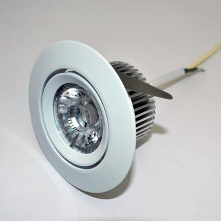 Spot encastrable LED 6W dimmable Blanc chaud 2