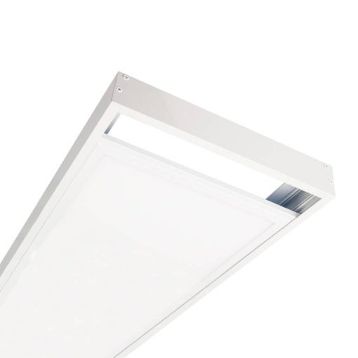 Led paneel 120x30 opbouw wit opbouw frame 2