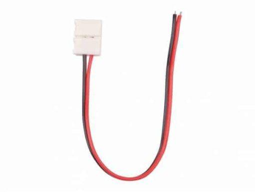 Connecteur de bande LED avec câble 1 couleur