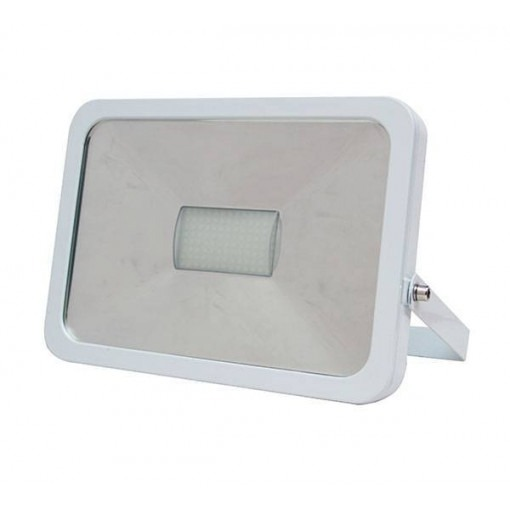 LED flood light 50W cold-white with wave sensor
