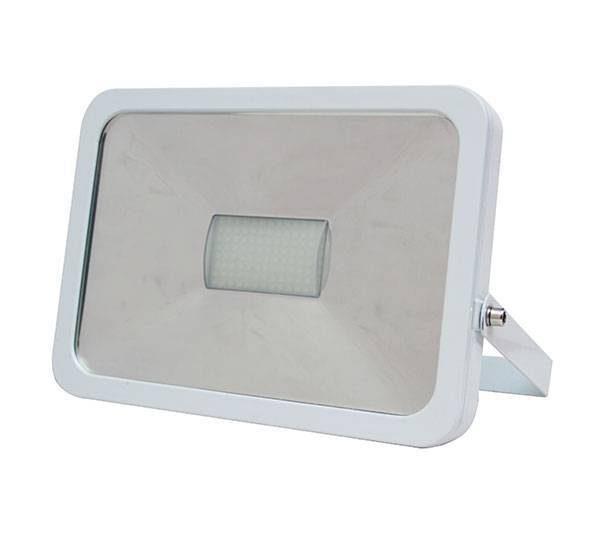 LED breedstraler 50W koud-wit met wave sensor